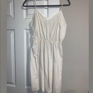 JCrew white mini dress